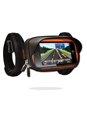 So Easy Rider motorcycle smartphone Waterproof Handle Bar Mount, Anti-vibration Smartphone Case