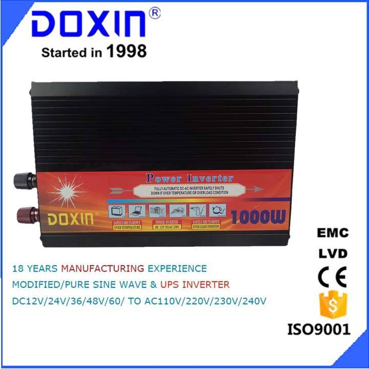 doxin 1000w solar power inverter  home use dc12 v ac 220v
