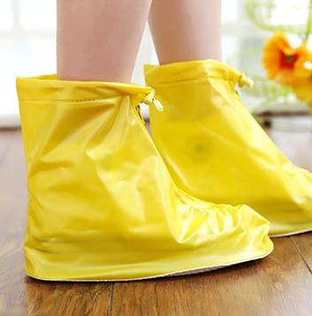 Cool Colorful PVC Ankle Rain Boot Over Shoes
