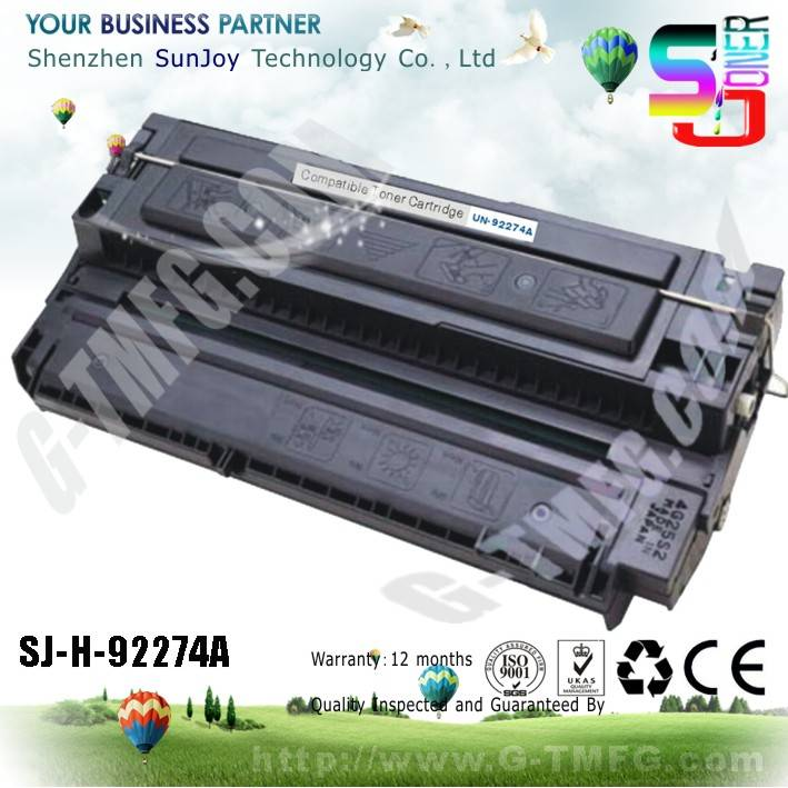 Sunjoy 74A toner cartridge 92274A compatible for HP LaserJet 4L 4LC 4ML 4P 4MP C2003A