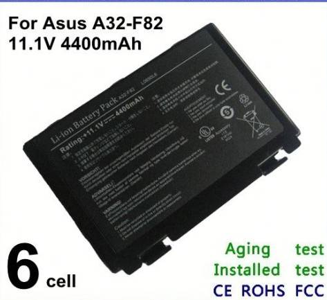 laptop notebook Battery for Asus A32-F52 A32-F82 L0690L6 L0A2016 F83S K50ID K51
