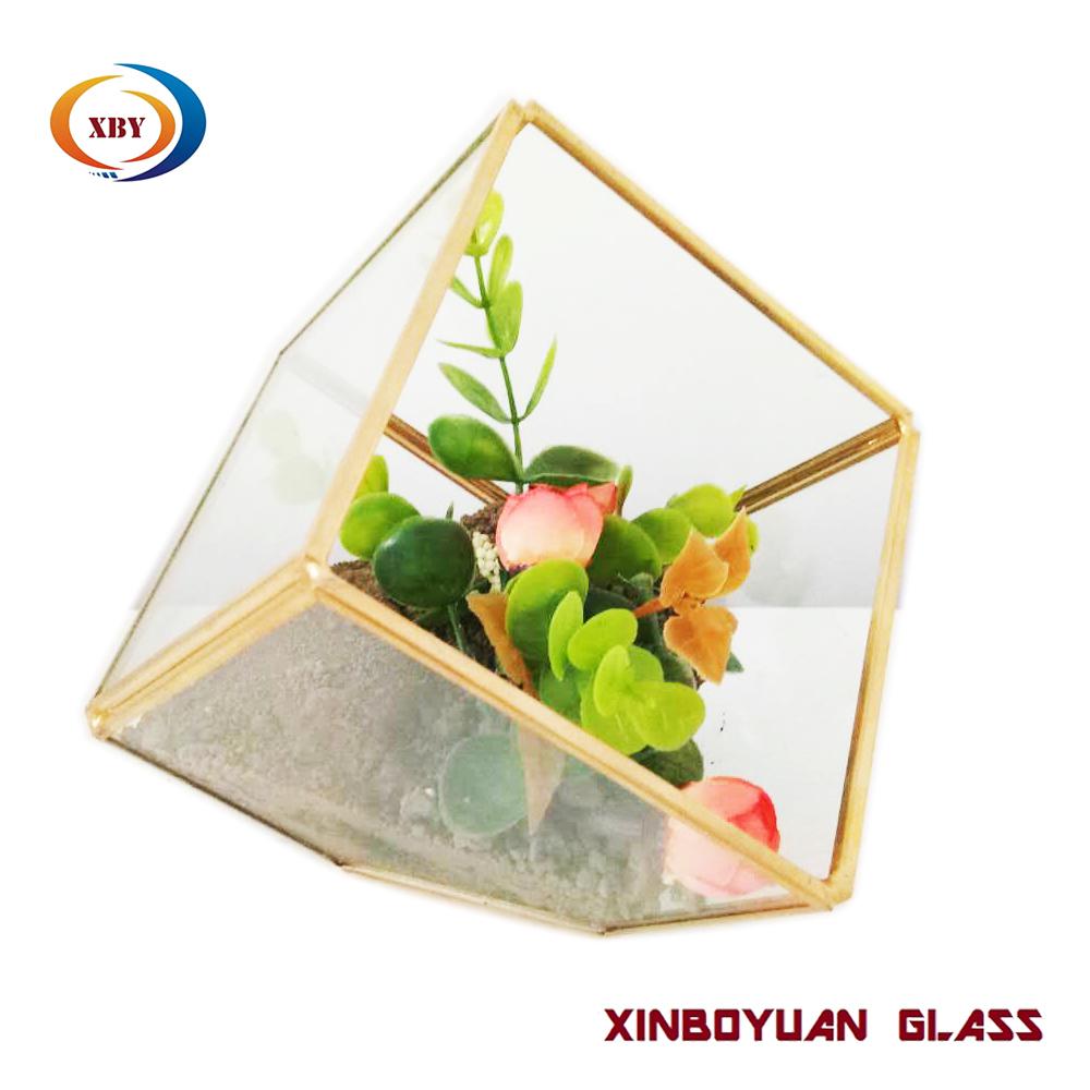 Wholesale Geometric Table Glass Terrarium