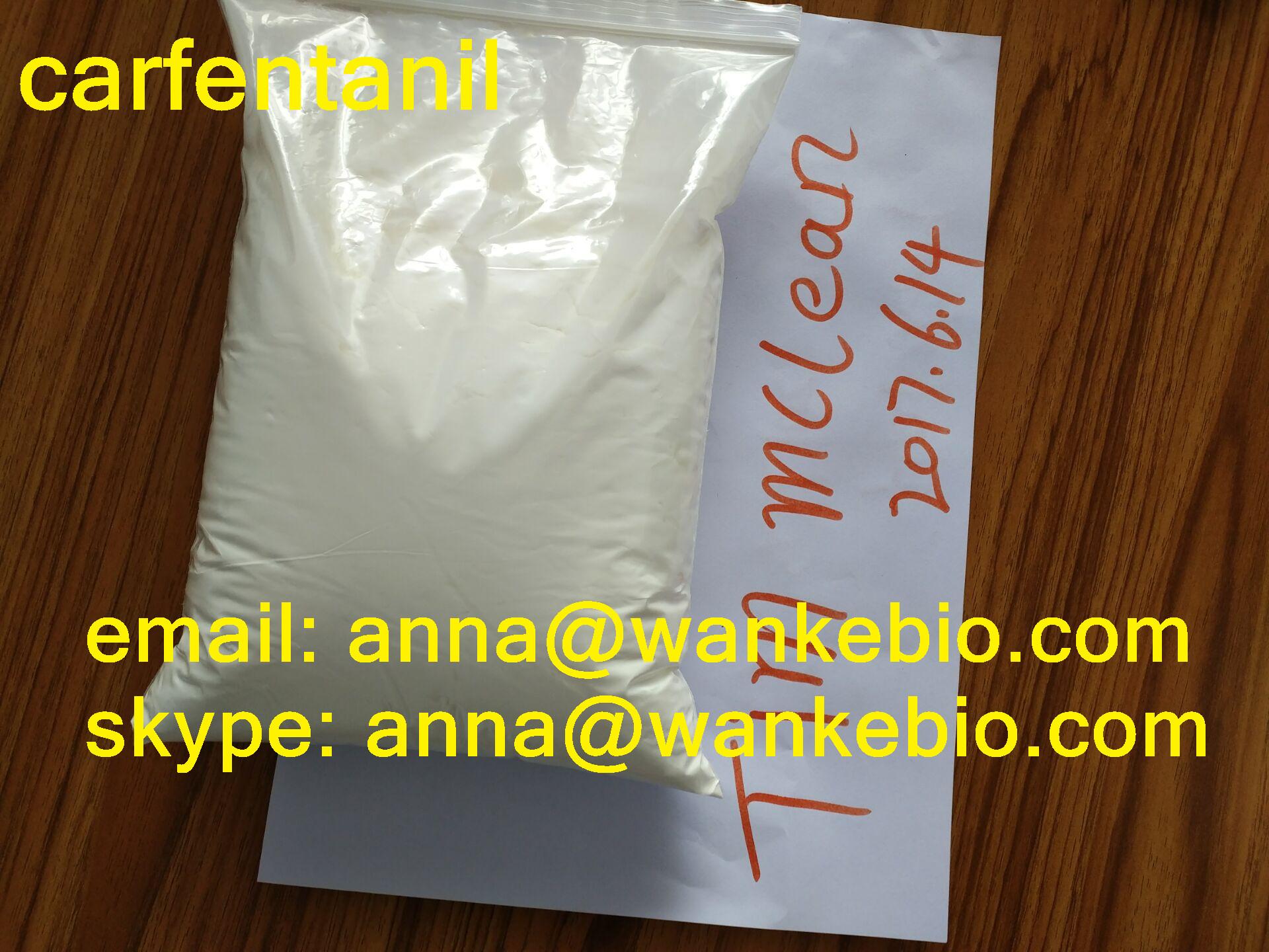 carfentanil Carfentanil cas no: 59708-52-0 carfentanil fuf buff skype: anna @ wankebio.com