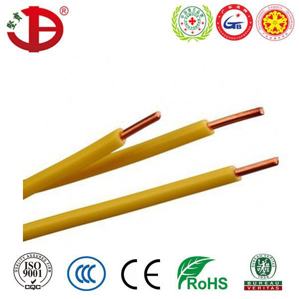 450/750V 6491X Single Core PVC Insulated Electrical cable H07V-U