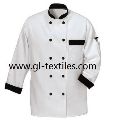 Chef coat chef uniform restaurant uniform GCC03