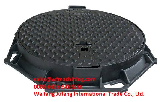 DI Sand Casting Manhole Cover Frame with Machining