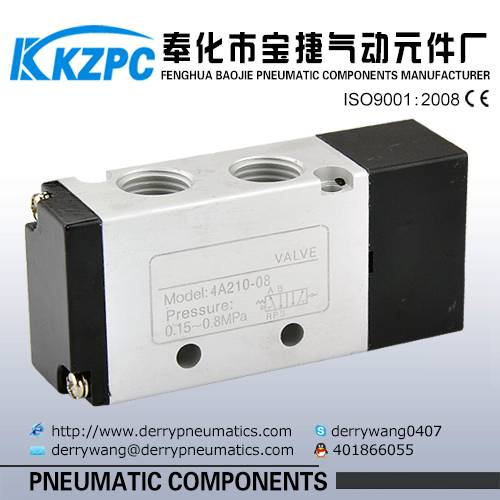 4A Series 5/2 Way Pneumatic Control Valve for 4A210-08