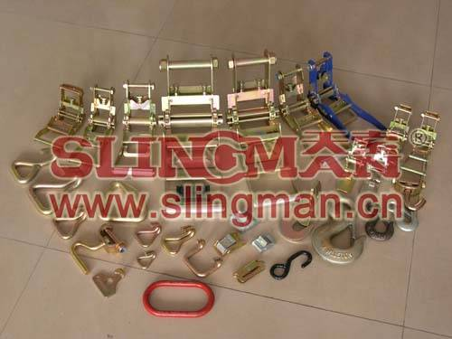 China supplier fitting for ratchet lashing strap tie down web lashing
