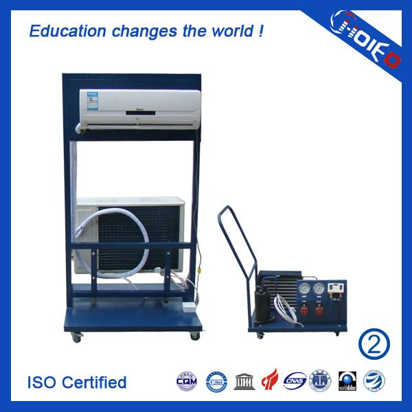 Air Conditioner Installation and Debugging Trainer,domestic items training equipment,refrigeration t