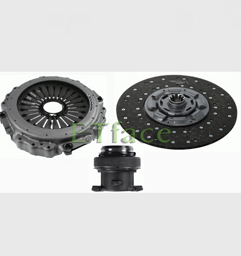 ETface 430mm Clutch Disc Pressure Plate Clutch Kits 3400 117 801 For IVECO