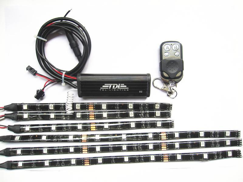motorcycle underbody led lighting kits
