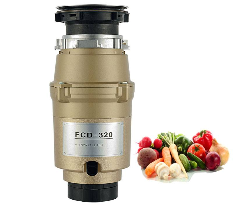 Household Continuous Feed Food Waste Garbage Bone Hammer Disposer (FCD-320)