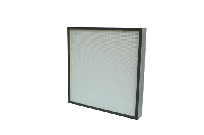 HEPA mini-pleated filter air filtration