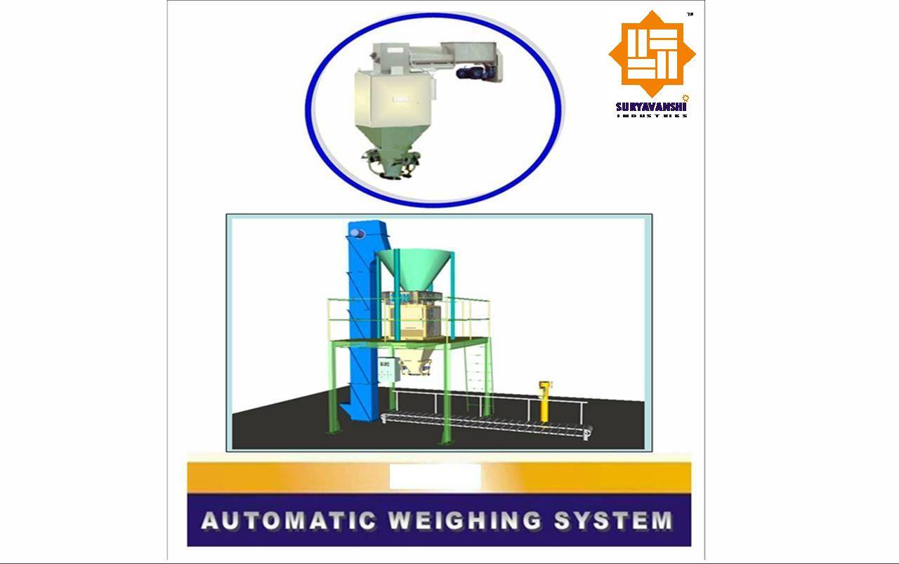 Automatic Weighing Systems / Machines for Bulk, Powder & Liquid Materials (Controller, Load cell Bas