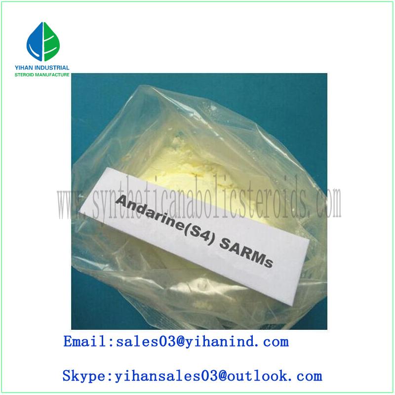 Raw Sarms Powder Hormone Andarine S4/Gtx-007/Acetamidoxolutamide Bodybuilding/Muscle 401900-40-1 Iri