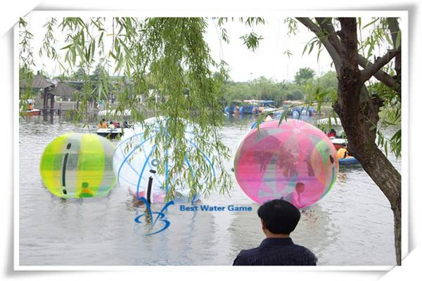2016 Popular Inflatable Water Walking Ball Water Games Ball for Sale