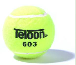 acrylic wool and natural rubber tennis