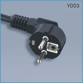 Europe power cord (CEE 7/7)