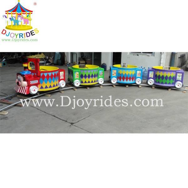 Amusement park trains for sale! Mickey Cup Trains 16 Seats
