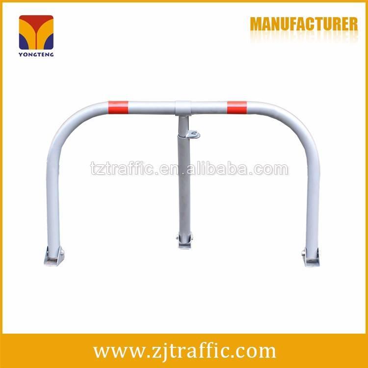 M type car parking barrier, manual parking lock.