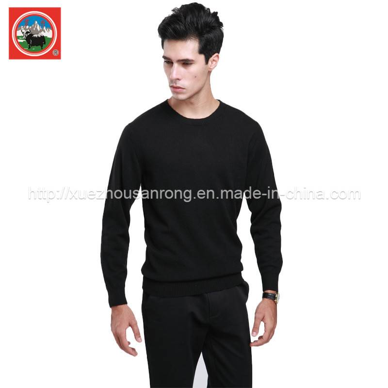 Men's winter knitted yak wool/cashmere cardigan/pullover clothing