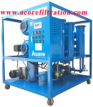 Vacuum Transformer Oil Purification and Regeneration Plant