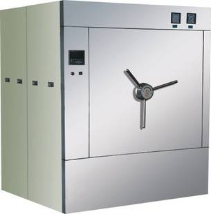 horizontal cylindrical presssure steam digital Autoclave/pulse vacuum Autoclave/ Double Door Steam S