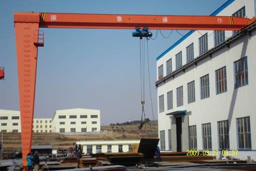 Hot Sale! Top Quality Single Girder Semi Gantry Crane
