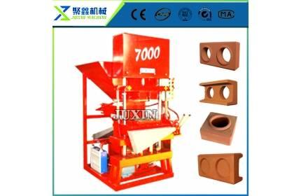 Eco Master 7000 automatic brick making machine,block making machine / clay interlock brick machine