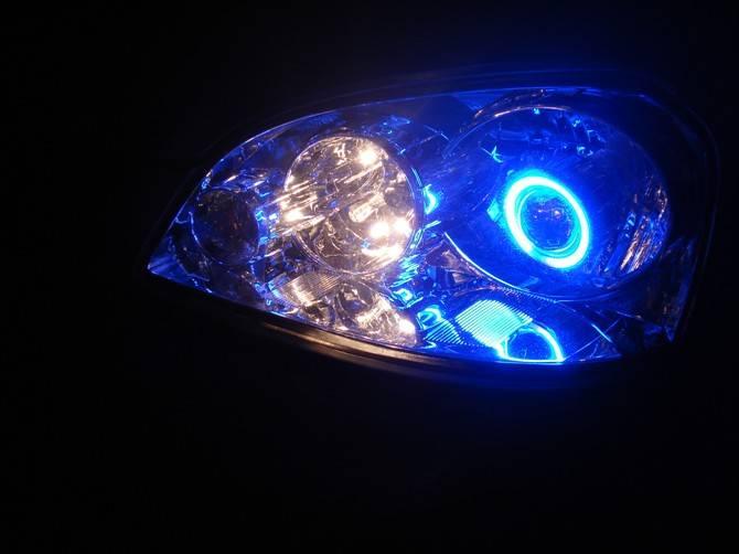 HID Bi-xenon Projector Lens Light Kit