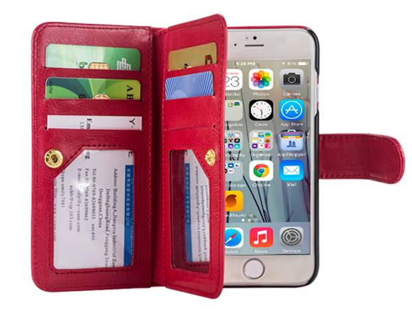 IP6S914 Wallet Leather Case for iPhone 6/6s