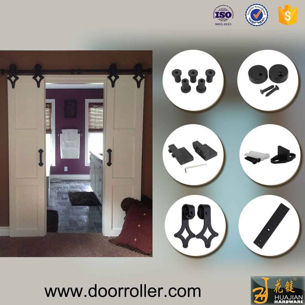 American Country Style Sliding Barn Door Hardware And Rollers