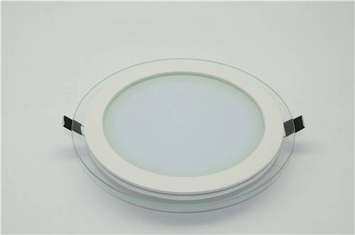 Round LED Down Light with glass 14W