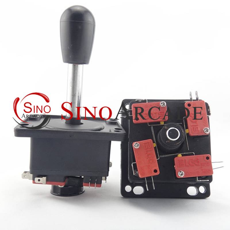 Spanish style joystick with microswitch for arcade game machine parts operated as an 8 way with 4 mi
