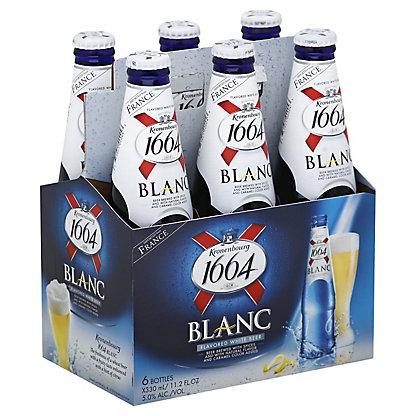 Kronenbourg 1664 Blanc Beer / French Beer Blue Bottles 33cl / 25cl~