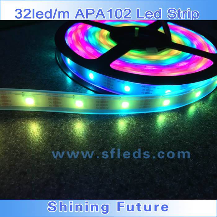 5050 RGB APA102 LED STRIP ADDRESSABLE