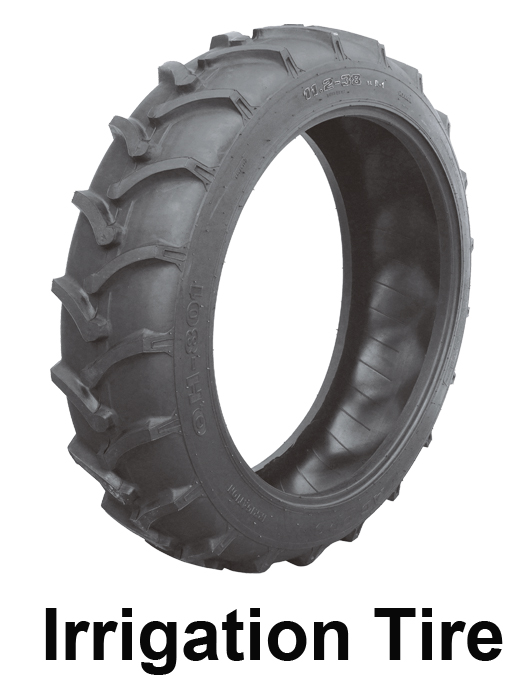 Irrigation tire agricultural tyre