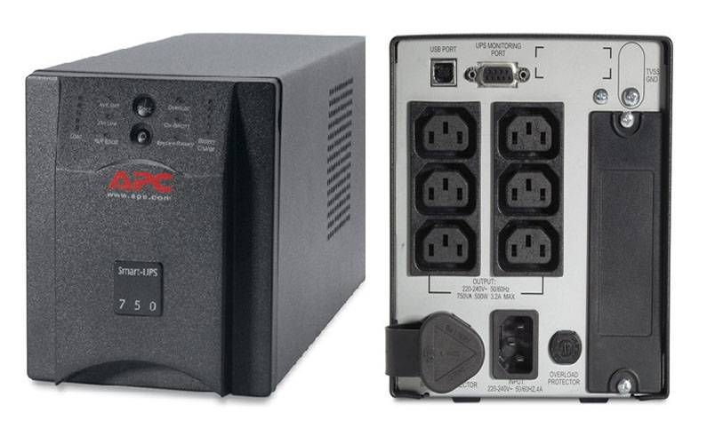 Apc Smart-UPS, 500 Watts / 750 Va