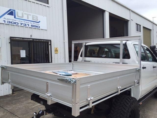 aluminum flat deck truck bed