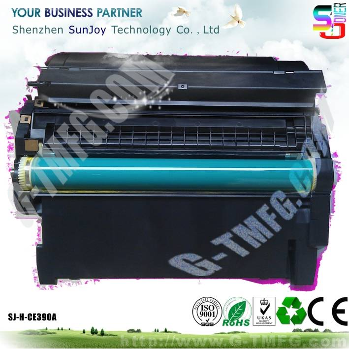Sunjoy 90A toner cartridge CE390A compatible for HP 600 M602n M602dn M602x 600 M601n M601dn M603n M6