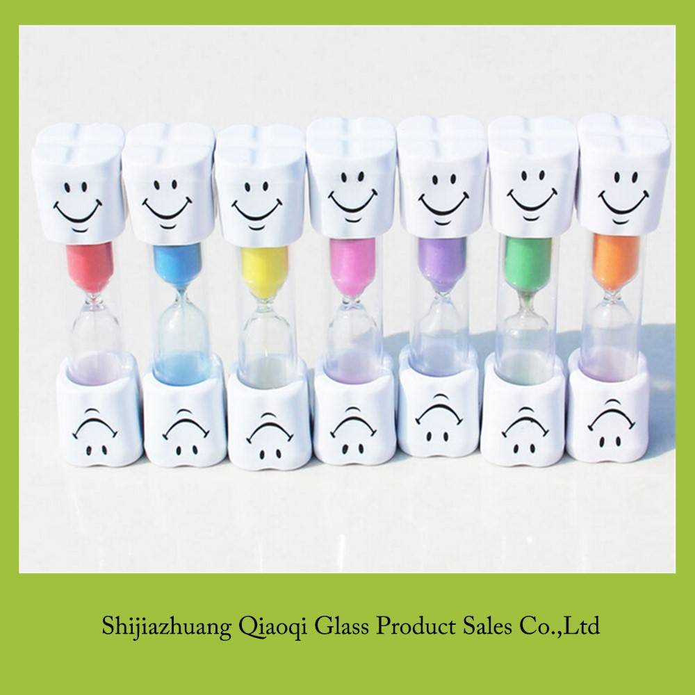 Customized tooth timer hourglass