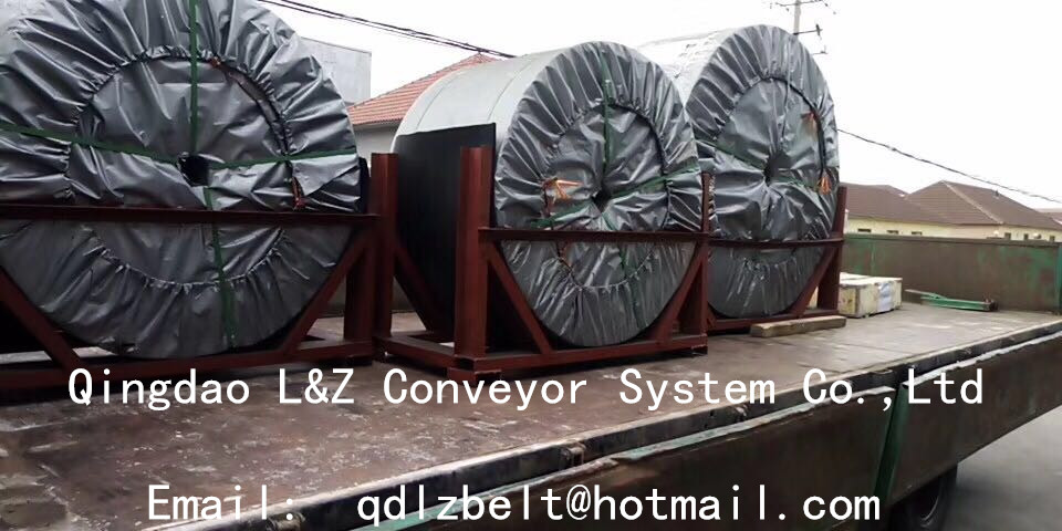 good quality rubber conveyor belt from China