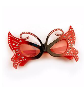 Factory Promotional Butterfly Party Decoration Glasses