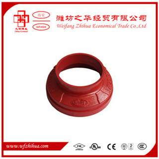 grooved pipe fittings concentric reducer