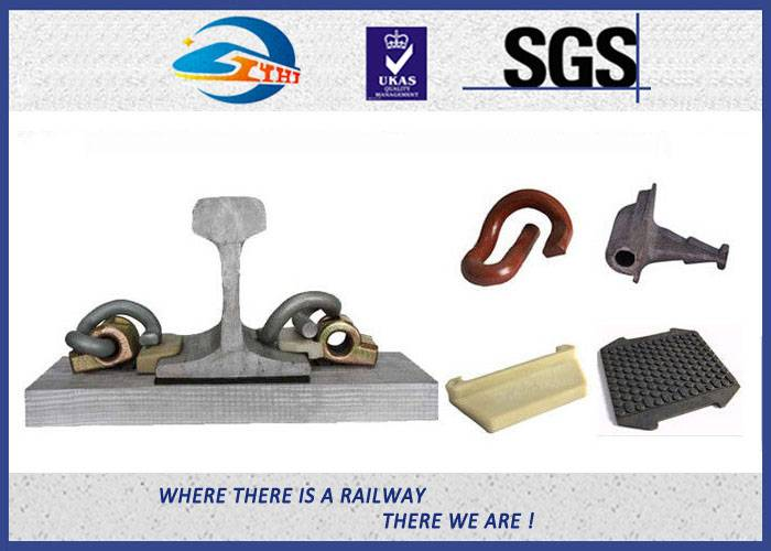 ZhongYue Color Painting Rail Fastening System Customized E Type Rail Clips