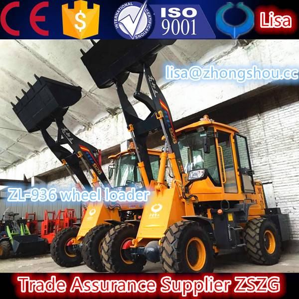 2.low price with high quality wheel loader, 936 ,front end wheel loader