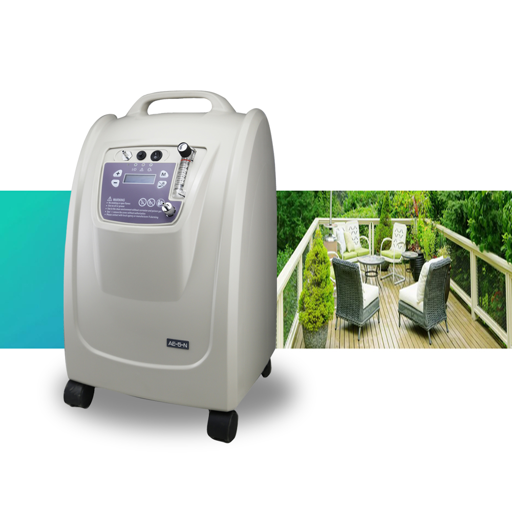 5L home use medical oxygen concentrator with ce