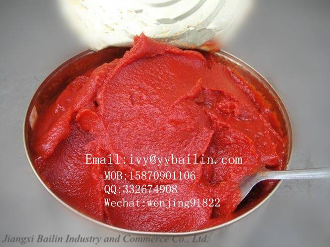Canned tomato paste, 70g*50tins good price and high quality for many years