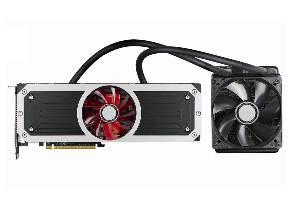 R9295X8QFA R9 295 X2 with Closed Loop Liquid Cooling 8GB DDR5 Graphics Cards