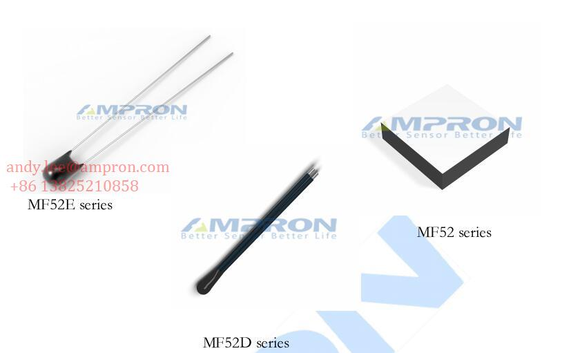 MF52&MF52E&MF52D series precise bead NTC thermistor applied to temperature measurement and control